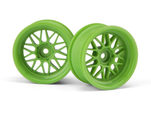 HPI 106772 HRE C90 Wheel 26mm Green (6mm Offset/2Pcs)