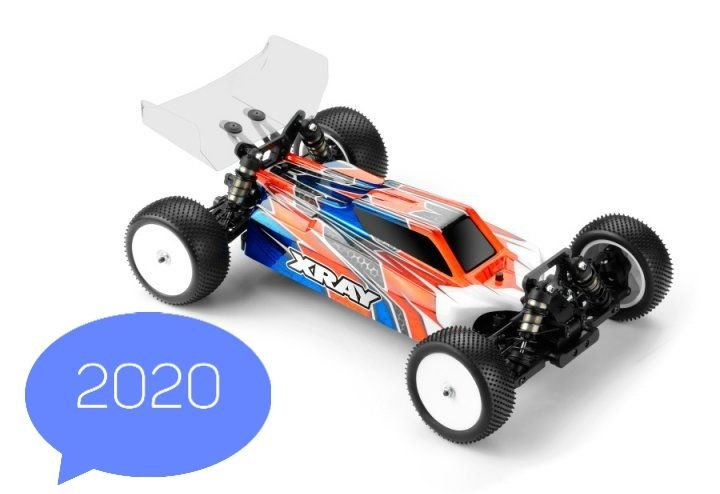 XRAY XB4 2020 Spec 4WD 1/10 Electric Off Road Buggy