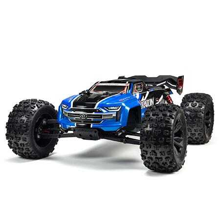 Arrma Kraton Monster Truck, 2019 Spec, 6S BLX, RTR, Blue