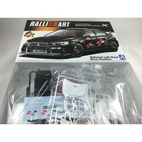 "Mitsubishi Lancer Evo X ""Ralliart Version"" Aoshima - Nr. 047842 - 1:24"