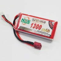 NXE 7.4v 1300mah 30c Soft Case With Deans Plug