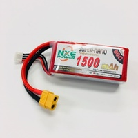 NXE 11.4V 1500Mah 90C High Voltage Drone Battery With XT60 Plug