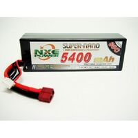 NXE 11.1V 5400Mah 60C Hard Case LIpo With Deans Plug