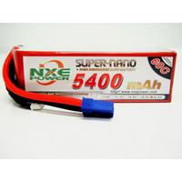 NXE 22.2V 5400Mah 60C Soft Case Lipo With EC5 Plug