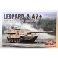 German Main Battle Tank Leopard 2 A7+ Meng Model - Nr. TS-042 - 1:35
