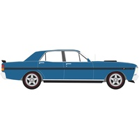 SCALEX FORD XY FALCON - GTHO PHASE III - ELECTRIC BLUE