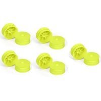 "CH-Race-Control Proline Velocity 2.2"" 4WD Front yellow Wheels 10pcs"