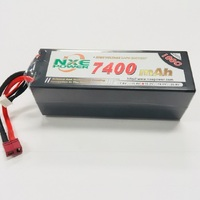 NXE 15.2V 7400MAH 100C Hard Case Lipo With Deans Plug