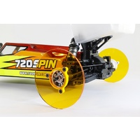 720Spin 1/10TH Buggy Camber Wheels Fluro Green