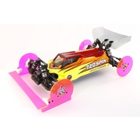720Spin 1/10TH Buggy Toe And Camber Gauge Front Fluro Green