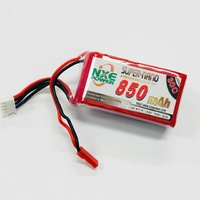 NXE 11.1V 850Mah 30C Soft Case Lipo With JST Plug