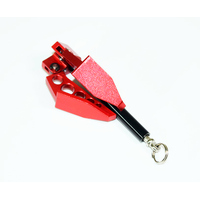 Absima Aluminum foldable winch anchor 1:10