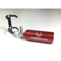 Absima Aluminum Fire Extinguisher red