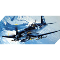Academy 12267 1/48 Voucht F4U-4B Corsair Plastic Model Kit
