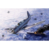 "Academy 12324 1/48 SB2U-3 ""Battle of Midway"" Plastic Model Kit"