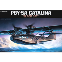 Academy 12487 1/72 PBY-5A Catalina Plastic Model Kit *Aus Decals*
