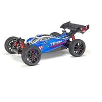 Arrma Typhon 4WD 6S BLX Ready to run Offroad Buggy Blue/Silver
