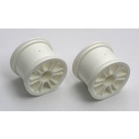#18B Spoked Wheels Rear White