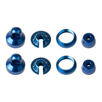 Enduro Shock Parts, blue aluminum