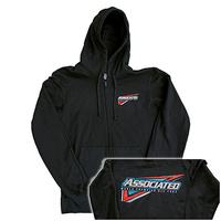 Associated Tri Zip-Up, black, 3XL