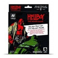 Vallejo 70187 Hellboy Acrylic Paint Set with Figure