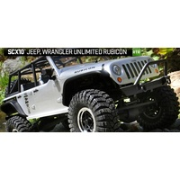 Axial 1/10 SCX10 2012 Jeep Wrangler Rubicon 4WD Ready To Run