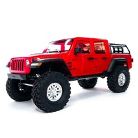 Axial SCX10 III Jeep JT Gladiator RC Crawler, RTR, Red AXI03006T2