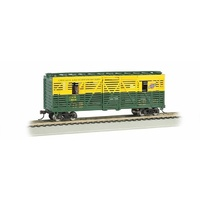 Bachmann Rs Chicago&Nw W/Horses 40 Anim.Stock Car