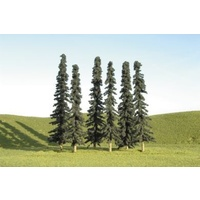 Bachmann 5 6 Conifer Trees (6) *