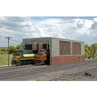 Bachmann Double Stall Shed *
