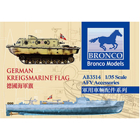 Bronco AB3514 1/35 German Kriegsmarine Flag Plastic Model Kit