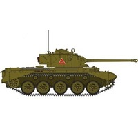 Bronco CB35010SP 1/35 British Cruiser Tank A34 'COMET'(Special Edition) Plastic Model Kit