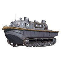 Bronco CB35031 1/35 Land-Wasser-Schlepper (Early Production) Plastic Model Kit