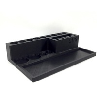 CHR Mega Tool Holder with, Parts Tray printed MIP, Black