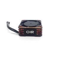 CHR 25mm Red Aluminium ESC Fan