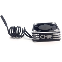 CHR 30mm Silver Aluminium Motor Fan