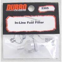 (DISCONTINUED DBR340) DUBRO 2305 IN-LINE FUEL FILTER (1 PCS PER PACK)