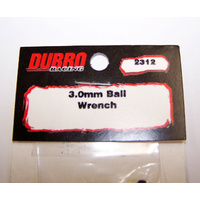 (DISCONTINUED) DUBRO 2312 3.0MM BALL WRENCH (1 PCS PER PACK)