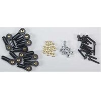 DUBRO 2318 4-40 MONSTER LINKS (12 PCS PER PACK)