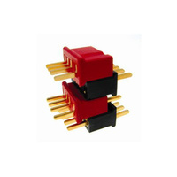 DEANS MICRO CONNECTOR 4 PIN RED - DEA1242