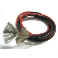 Dualsky 12AWG Silicone Wire, 1m Red, 1m Black