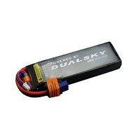 Dualsky 1300mah 6S 22.2v 50C HED Lipo Battery with XT60 Connector