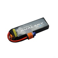 Dualsky 1800mah 5S 18.5v 50C HED Lipo Battery with XT60 Connector