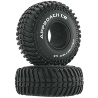 Duratrax Approach CR 1.9in Crawler Tire C3, 2pcs