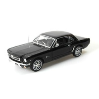 Welly 1:18 1964-1/2 Mustang Conv. Black