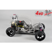 Beetle Off-Road Buggy 4wd 535mm clear