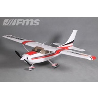 #Cessna 182 1100mm PNP Red