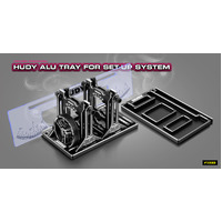 HUDY ALU TRAY FOR SET-UP SYSTEM - HD109860