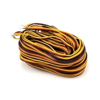 Hitec 3 Color Servo Wire 50ft (15.24m)