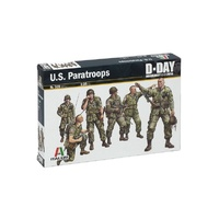 Italeri 0309 1/35 US Paratroops Plastic Model Kit
